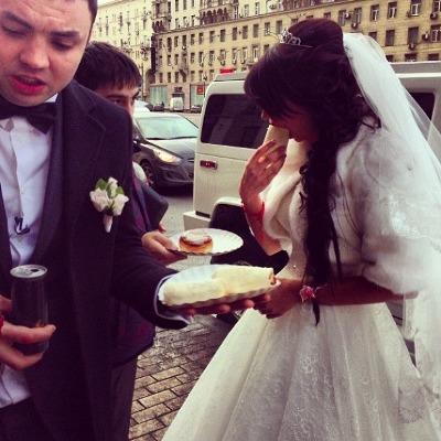 Сегодня состоялась свадьба Александра Гобозова и Алианы Устиненко