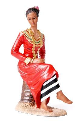 Так выглядит национальный костюм на Мальдивах