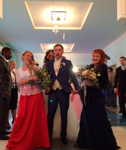 Свадьба Либерж Кпадону и Евгения Руднева