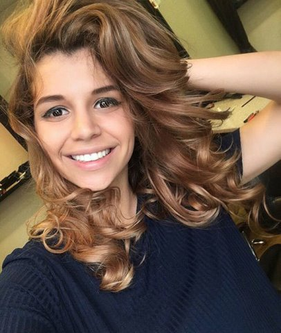 Алиана Гобозова стала блондинкой