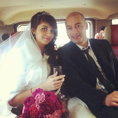 Алиана и Александр Гобозовы поженились