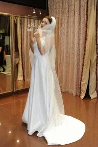 Свадебное платье вик