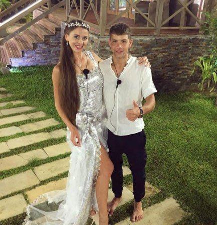 Рапунцель и дима свадьба фото