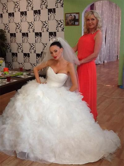 Платье феофилактовой фото свадебное платье